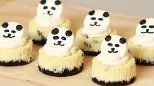 panda mini oreo cheesecake nerdy nummies youtube