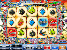 tattoo mania slots free online slot machine pokie fruit