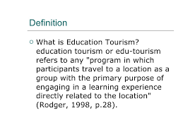 travel definition images Educational travel overview jpg