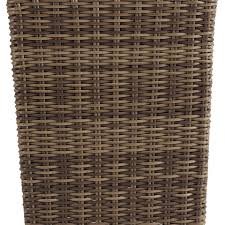 outdoor wicker trash can rc willey furniture store