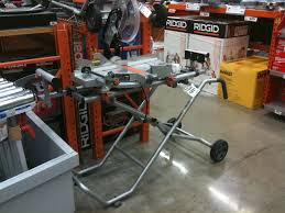Rigid 7 Tile Saw Stand by New Msuv Ridgid Plumbing Woodworking And Power Tool Forum