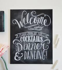 welcome chalkboard wedding sign wedding decor etc lily u0026 val