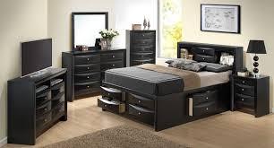 Black Wood Bedroom Set Black Bedroom Sets Tags Awesome Storage Bedroom Sets Amazing