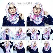 tutorial jilbab ala ivan gunawan tutorial hijab segi empat memakai kacamata tutorial hijab paling