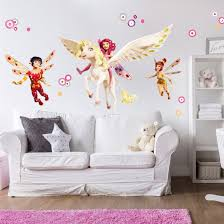 wall decal mia and me mia yuko and mo