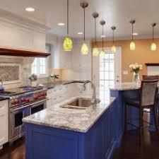 blue kitchen island photos hgtv