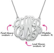 initials monogram monogramming initials guide how to monogram mynamenecklace