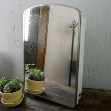 vintage bathroom cabinet with mirror benevola