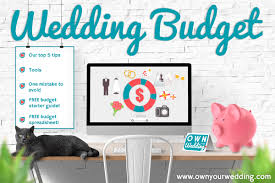 wedding budget own your wedding