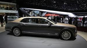 bentley mulsanne facelift visits geneva with ewb model motor1