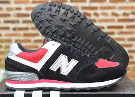 Harga Sepatu New Balance Original Murah new balance 574 anak hitam merah nrd sport