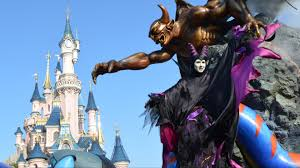the maleficent disney villains promenade w characters disneyland