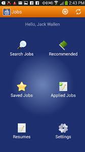 career builder resume search five free android job search apps techrepublic figure g