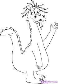 pics cartoon dragons kids coloring