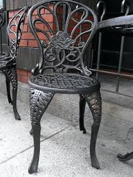 Wrought Iron Patio Table Set by Cast Iron Patio Furniture U2013 Churchdesign Us