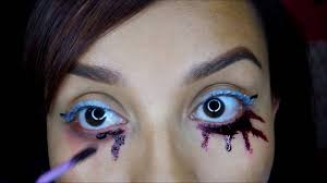 Purple Halloween Eye Makeup by Halloween Knife Eyeliner Makeup Tutorial Youtube