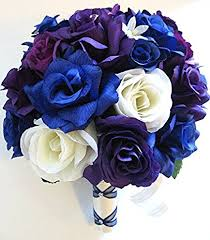wedding flowers silk wedding flowers silk bridal bouquet 17 package