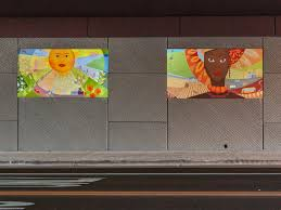 outdoor denver custom wall murals underpass mural the four graces in lakewood co