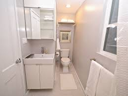 Powder Room Floor Tile Contemporary Powder Room With Flat Panel Cabinets By Vellturo