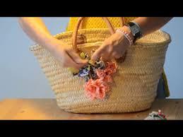 tutorial decoupage en mimbre tutorial para decorar capazo con flores de tela en 1 hora youtube