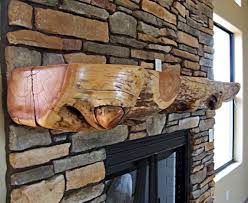 good and fascinating log fireplace mantels intended for