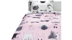 linen house kitty cat quilt cover set domayne