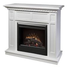 portable fireplace 48 25 dimplex caprice white electric fireplace