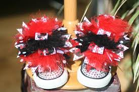 minnie mouse hair bow the top hairbows the top shoe bows the top