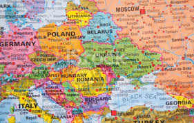 map of eastern european countries nations map of russia and other eastern european countries