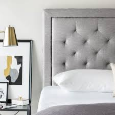 Tufted Upholstered Headboard Square Upholstered Headboard Joplimo
