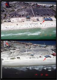 before and after photo pairs florida hurricane ivan coastal
