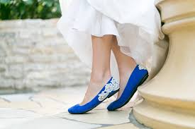 wedding shoes for blue wedding shoes will never make your special day blue
