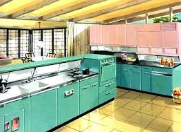 1950s Kitchen Furniture 1950s Retro Kitchen Best Kitchen Ideas On House Kitchen And Home