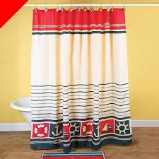 Nautical Bathroom Curtains 35 Best Bath Images On Entryway And Halle
