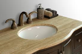 bathroom vanities 40 inch calesvo 40 inch antique single sink vanity with travertine marble top