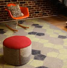 Wool Felt Rugs Handmade Felt Rugs From Peace Industry Design Milk