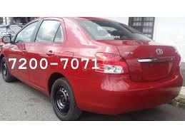 Yaris Sedan 2008 Used Car Toyota Yaris Costa Rica 2008 Yaris 2008 Rojo Con Garantía