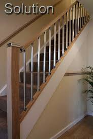 chrome banister rails stair banisters stair parts chrome stair handrail fittings
