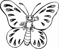 cartoon butterfly coloring page u0026 coloring book