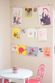 diy kids artwork display artwork summer and playrooms