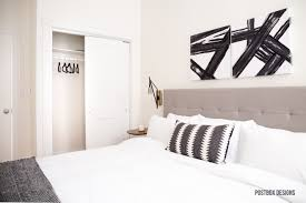 neutral modern boho bedroom makeover reveal see the before and