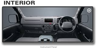 Toyota Hiace Van Interior Dimensions Hiace U2013 Toyota Ravi Motors