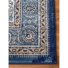 ivory rugs distressed rug transitional rug blue ivory high quality carpet