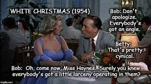 White Christmas Meme - white christmas 1954 imgflip