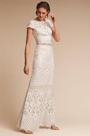 gown wedding dress sheath column wedding dresses bhldn