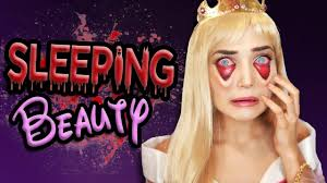 Tired Sleeping Beauty Halloween Makeup Tutorial Disney Princess