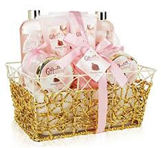 spa gift basket spa gift basket refreshing pomegranate fragrance in