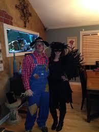 scarecrow crow couple costumes scarecrows