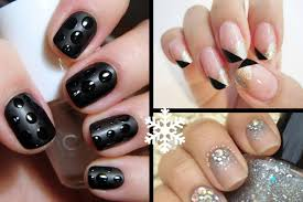 nail art designs 2014 new years nail art 3 easy designs