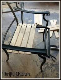 Recover Patio Chairs Recover Sling Back Chairs We Just Bought 4 Of These For 20 And
